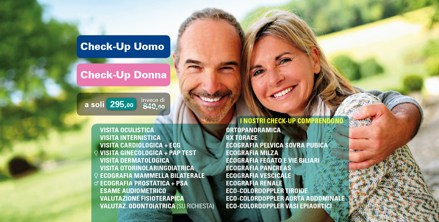 Check-Up Uomo Donna
